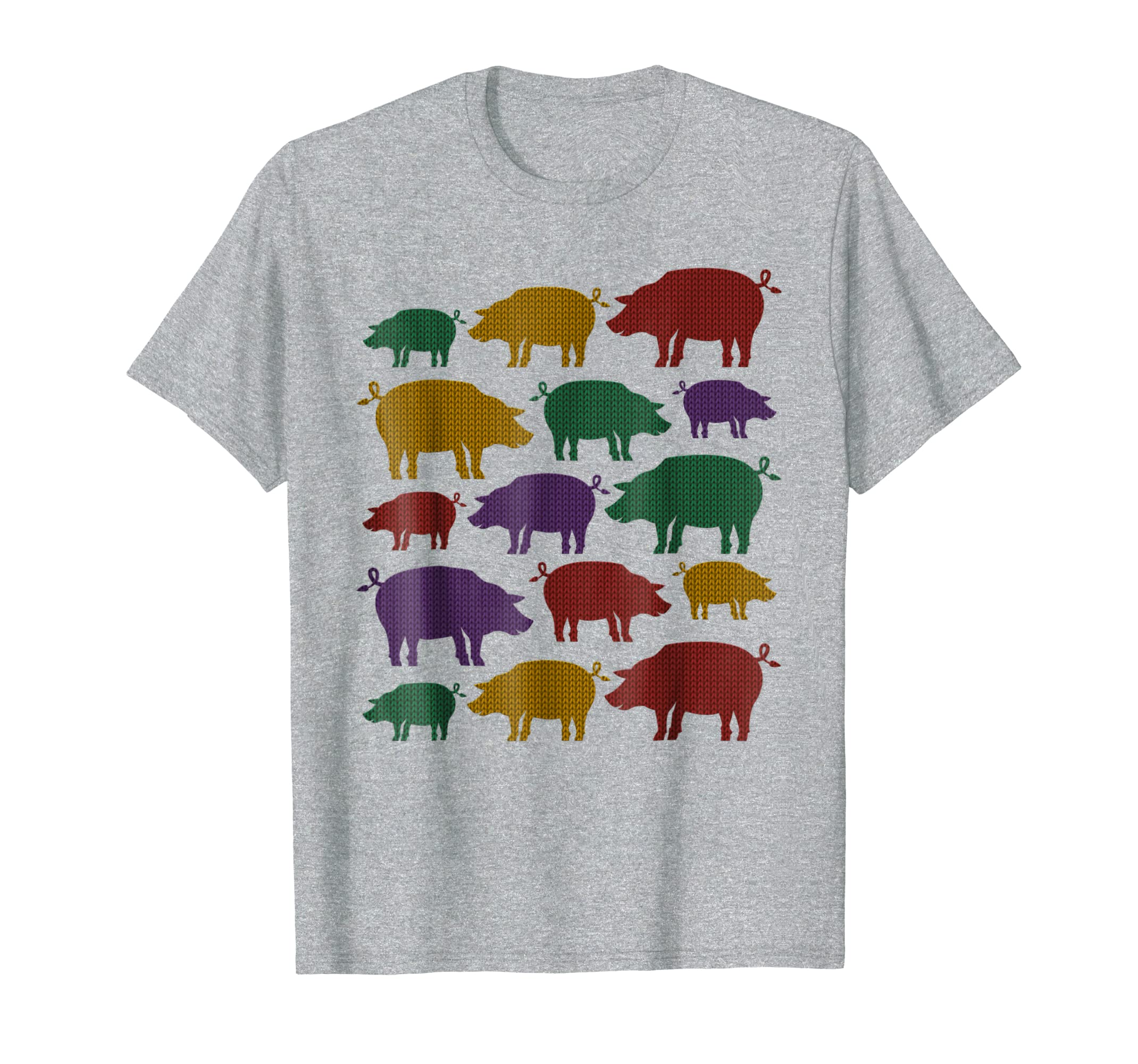 The New Year Lucky Pigs Ugly Vintage T Shirt I Xmas Gift-azvn
