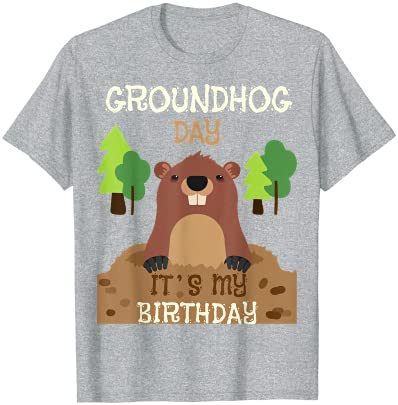 Groundhog Pun Gift Happy Rodent Meteorologist Day Funny Meteorologist Gift, GroundHog Day Shadow TShirt Gift Ground Hog Men Women TShirt