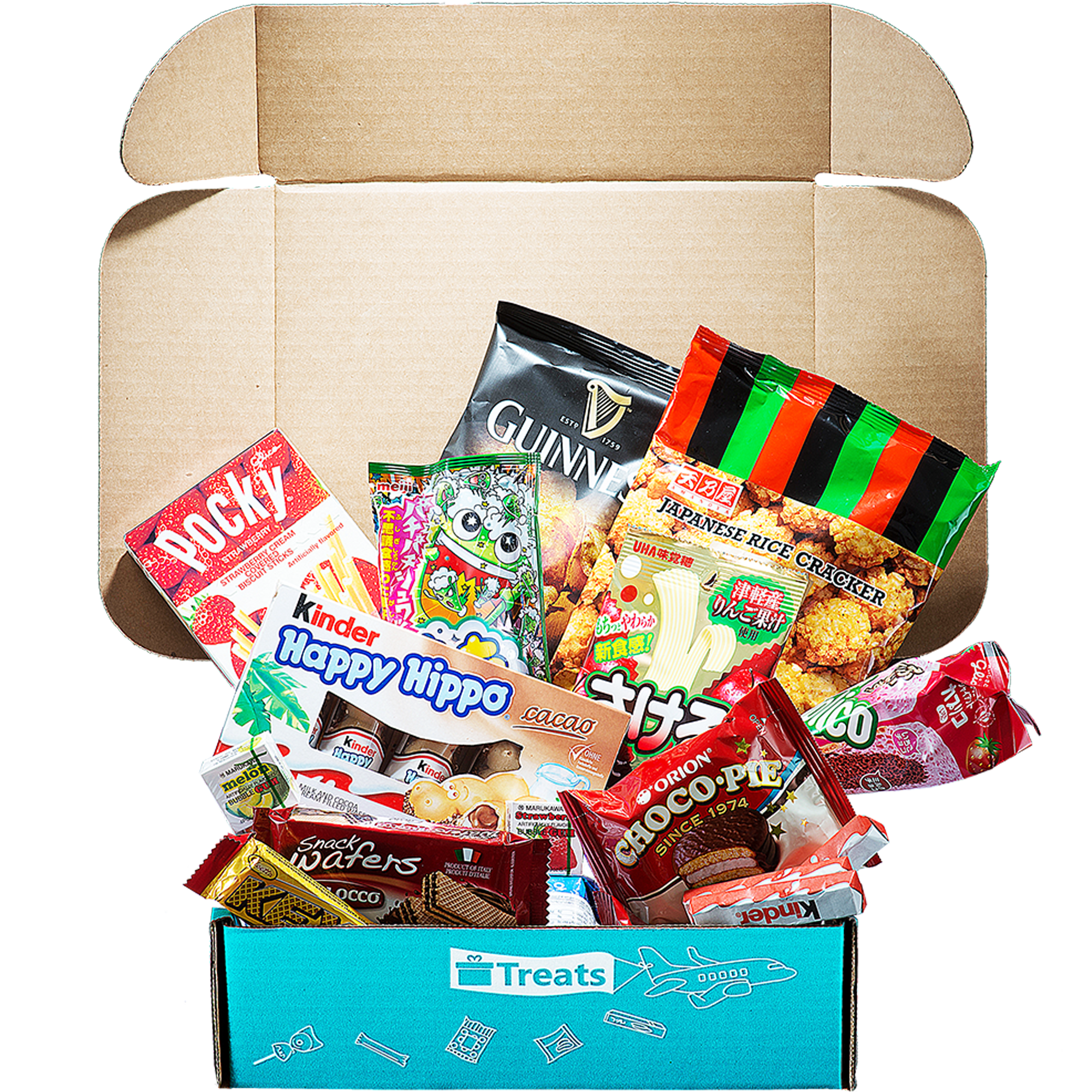 Product Image of the Try Treats - International Snack Subscription Box: Premium Box Subscription