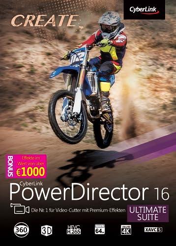 CyberLink PowerDirector 16 Ultimate Suite [Download]