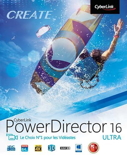 CyberLink PowerDirector 16 Ultra [Téléchargement]