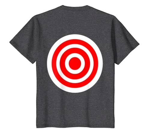 d341fc7b Amazon.com: Target T Shirt funny printed on the back bulls eye gift tee:  Clothing