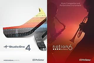 PreSonus Professional Bundle - Studio One 4 Professional and Notion 6 [Online Code]