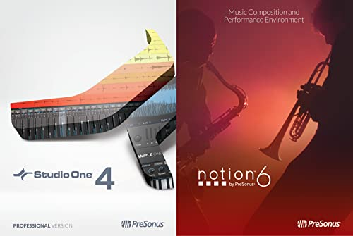 PreSonus Professional Bundle - Studio One 4 Professional and Notion 6 [Online Code]