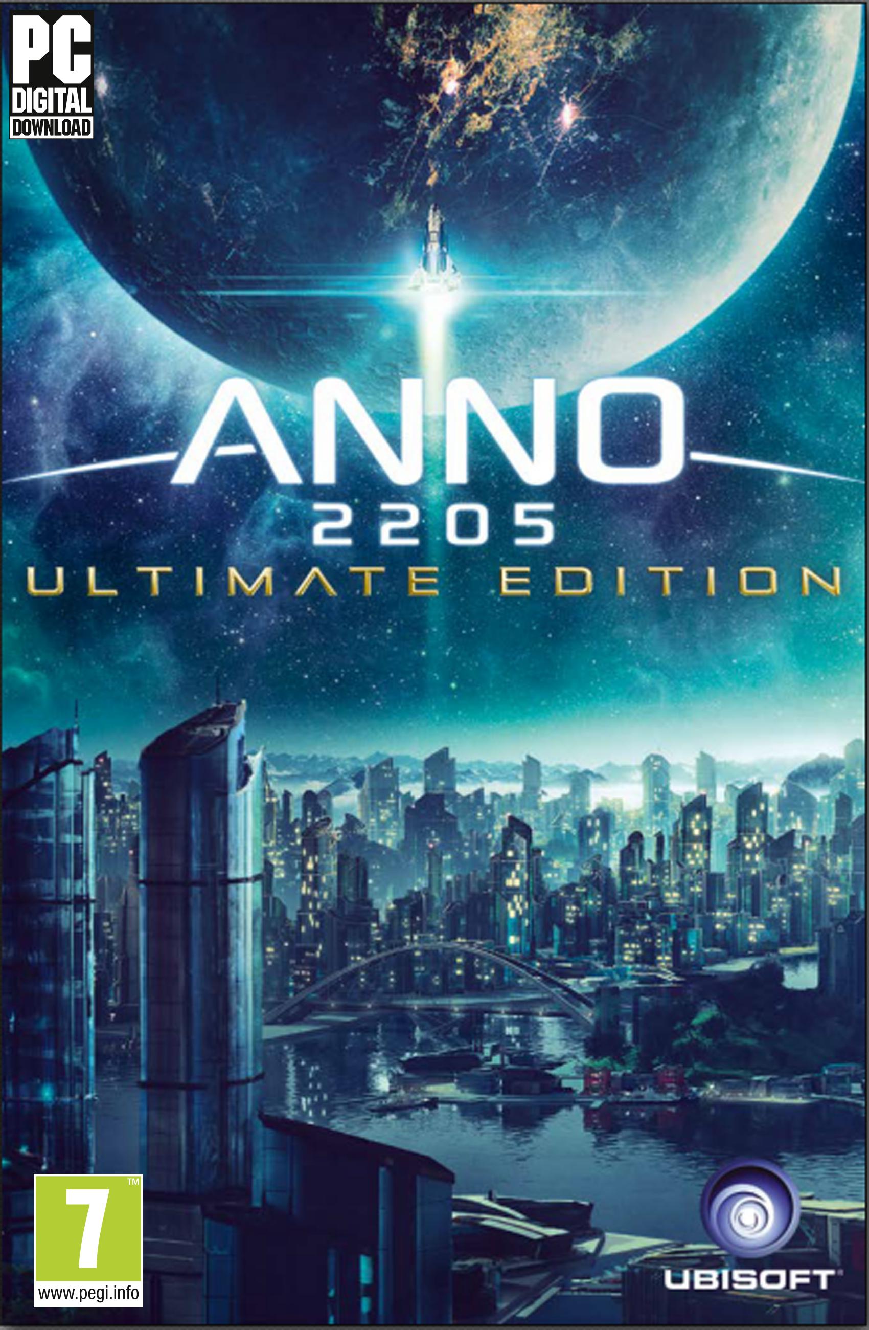 Anno 2205 - Ultimate Edition [Code Jeu PC - Ubisoft Connect]