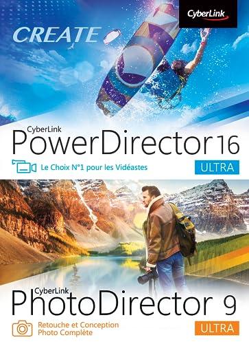CyberLink PowerDirector 16 Ultra & PhotoDirector 9 Ultra Duo [Téléchargement]