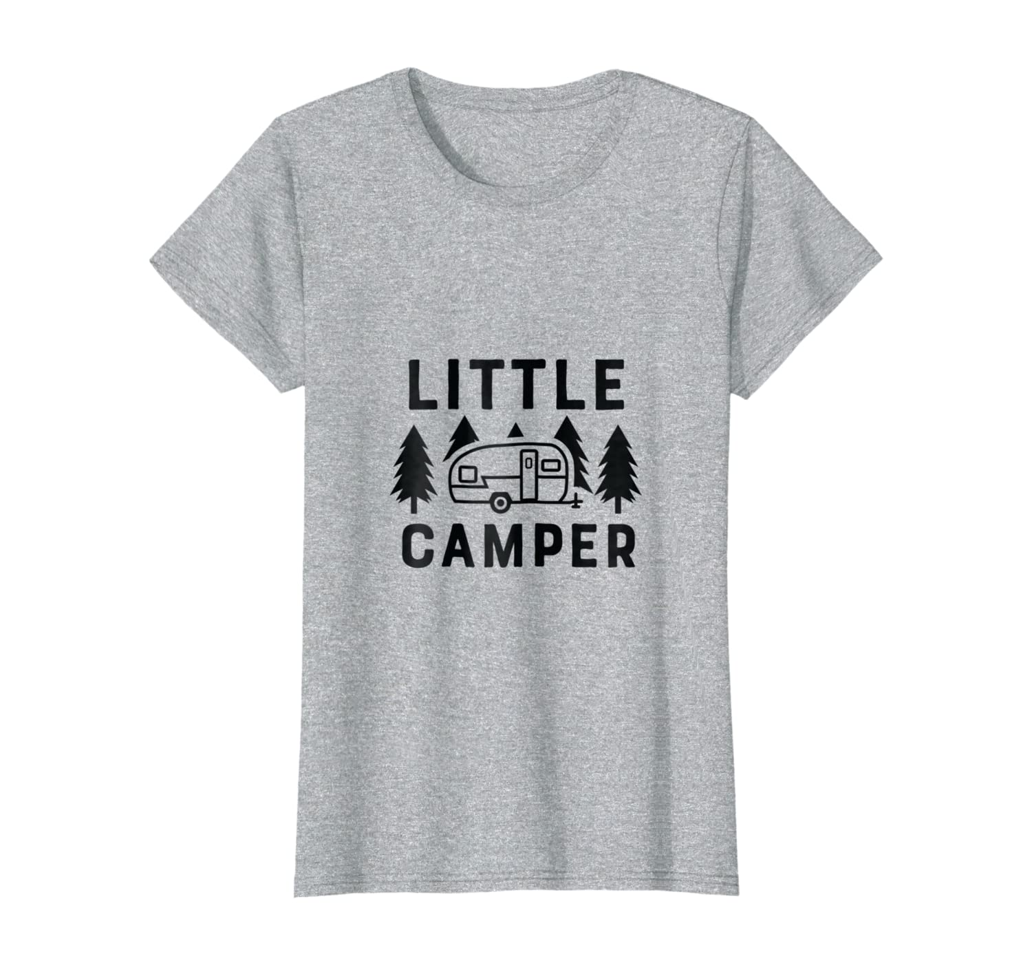 Kids Youth T Shirt This girl Loves Camping Tents Glamping