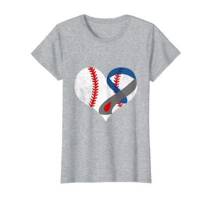 Amazon.com: Diabetes Awareness - Camiseta de béisbol, color ...