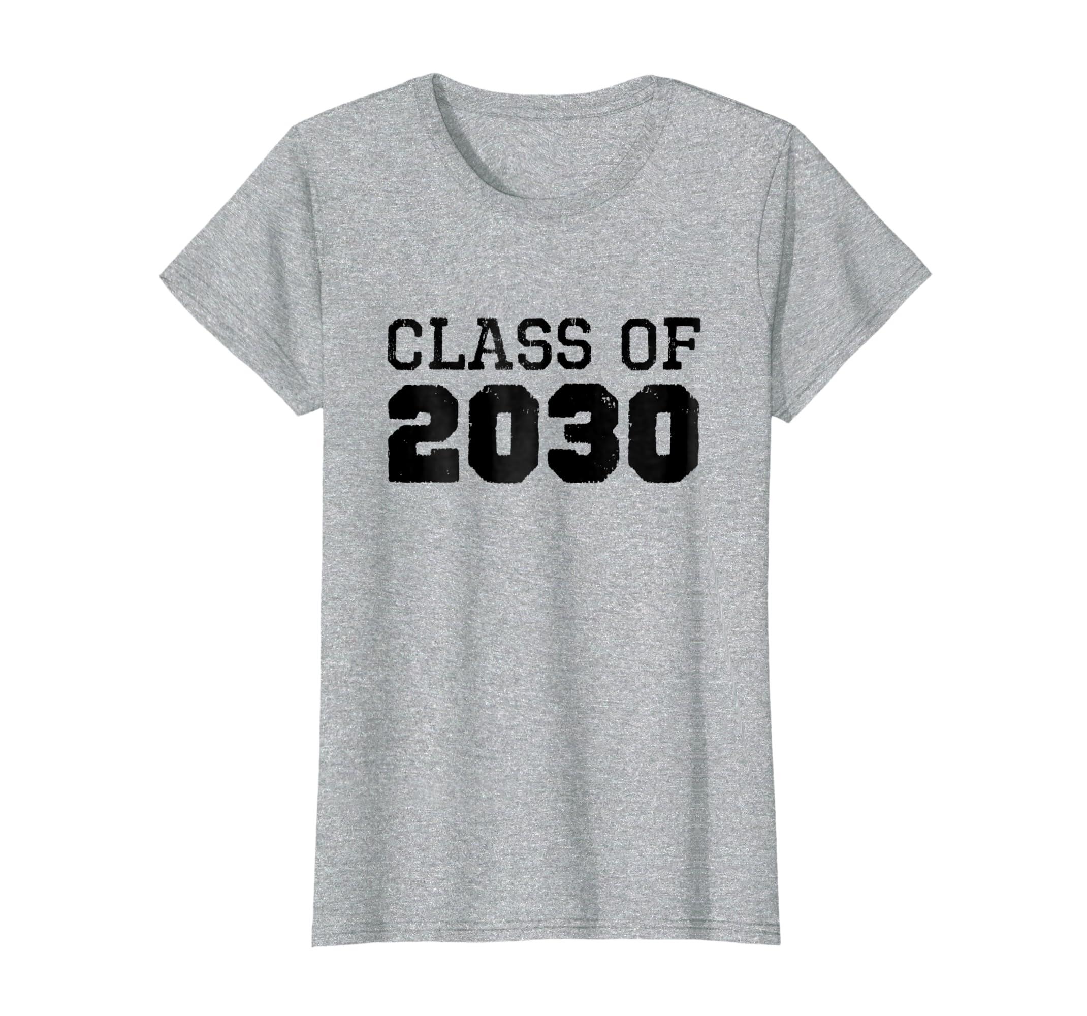 Class Of 2030 Future Graduates Vintage T Shirt