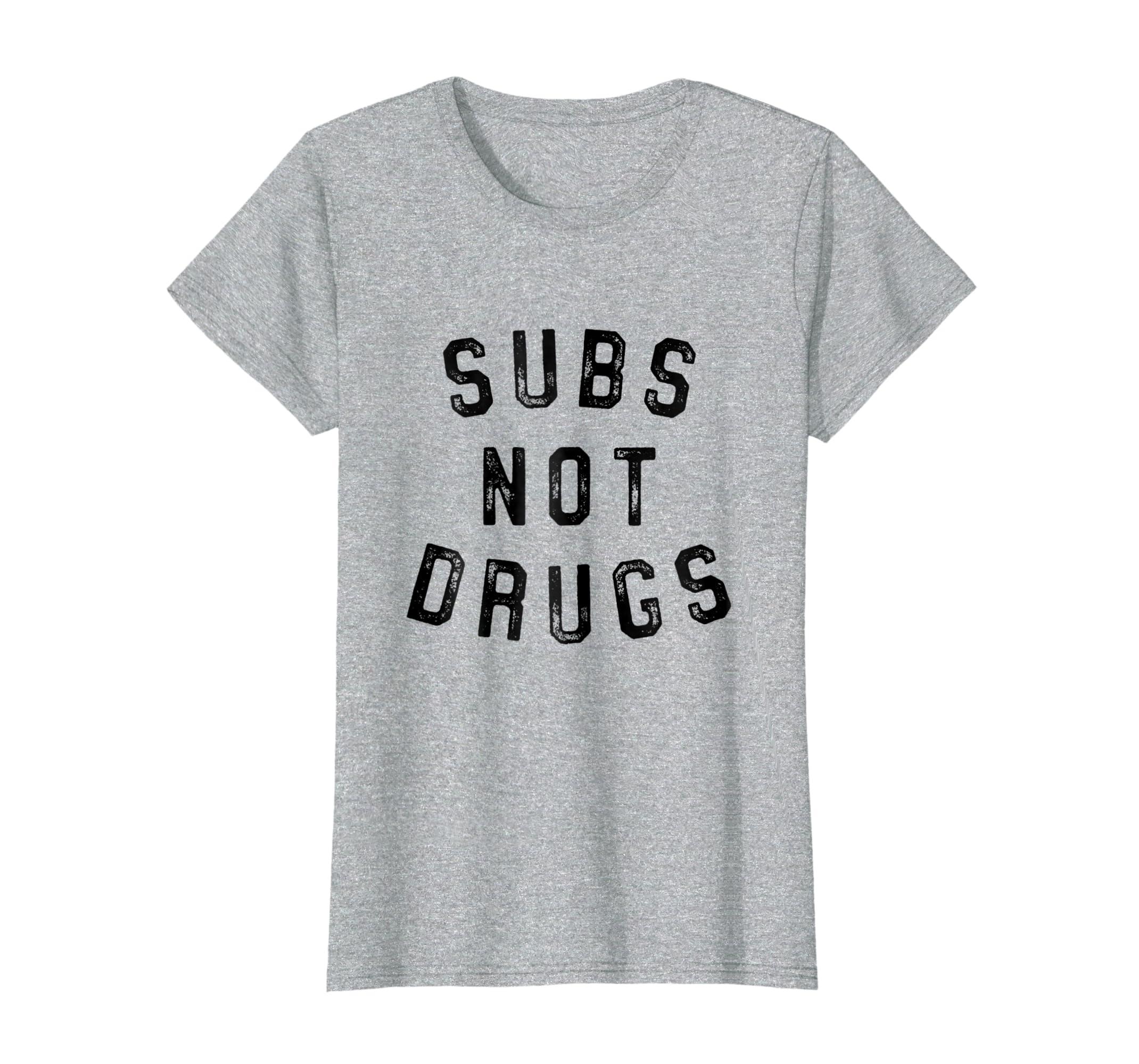 ceeae189 Amazon.com: Subs Not Drugs BJJ MMA Tee Funny Brazilian Jiu Jitsu T Shirt:  Clothing