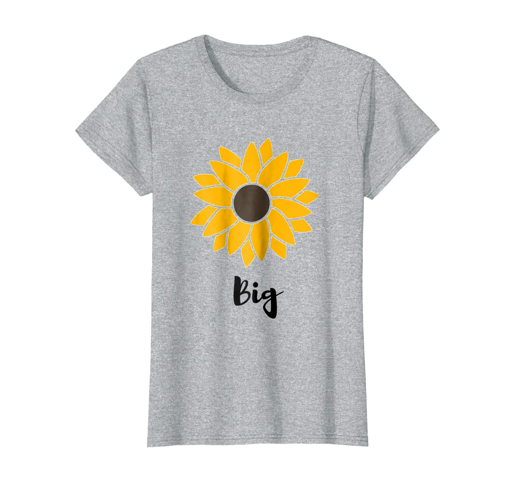 Sun flower Big sister sorority tee-Colonhue