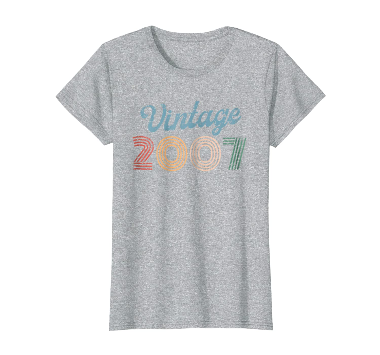 Retro Vintage 2007 80's Style 12 yrs old 12th Birthday Shirt-Loveshirt