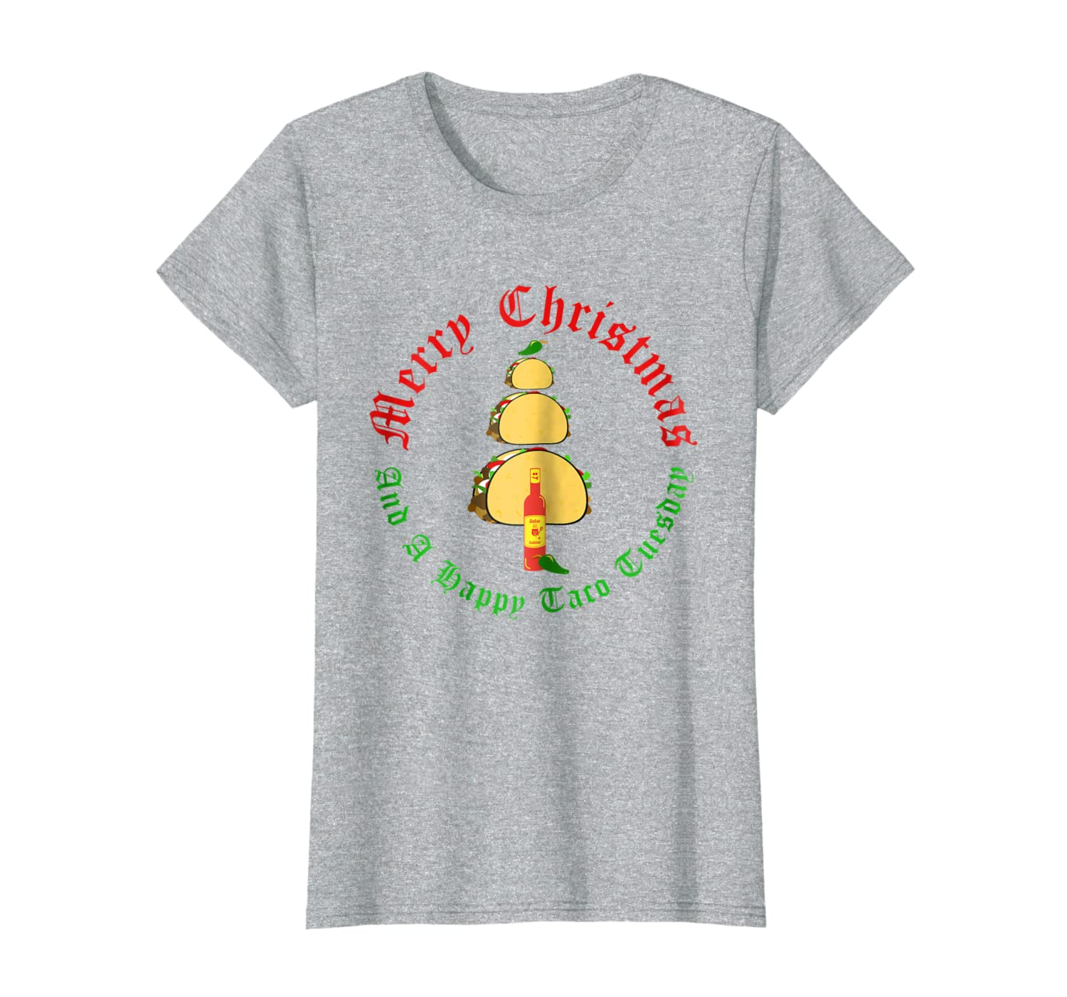 Amazon.com: Merry Christmas And A Happy Taco Tuesday: Clothing