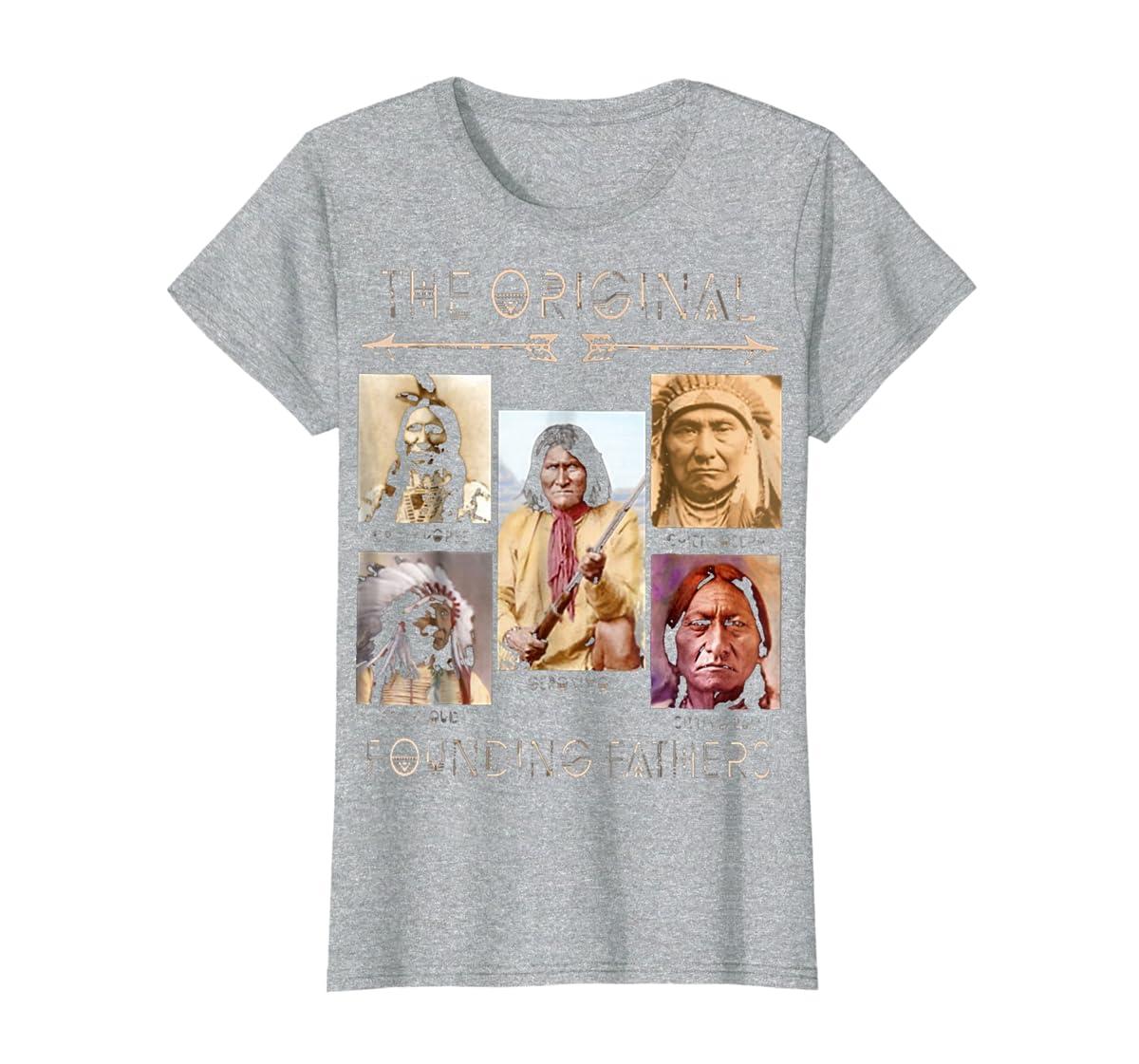the original founding fathers native classic shirt-Women's T-Shirt-Sport Grey