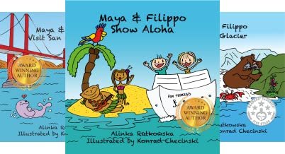 Maya & Filippo Adventure and Education for Kids (11 Book Series)