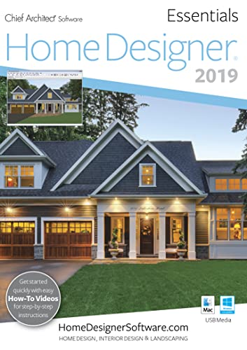 Home Designer Essentials 2019 - PC Download [Download]