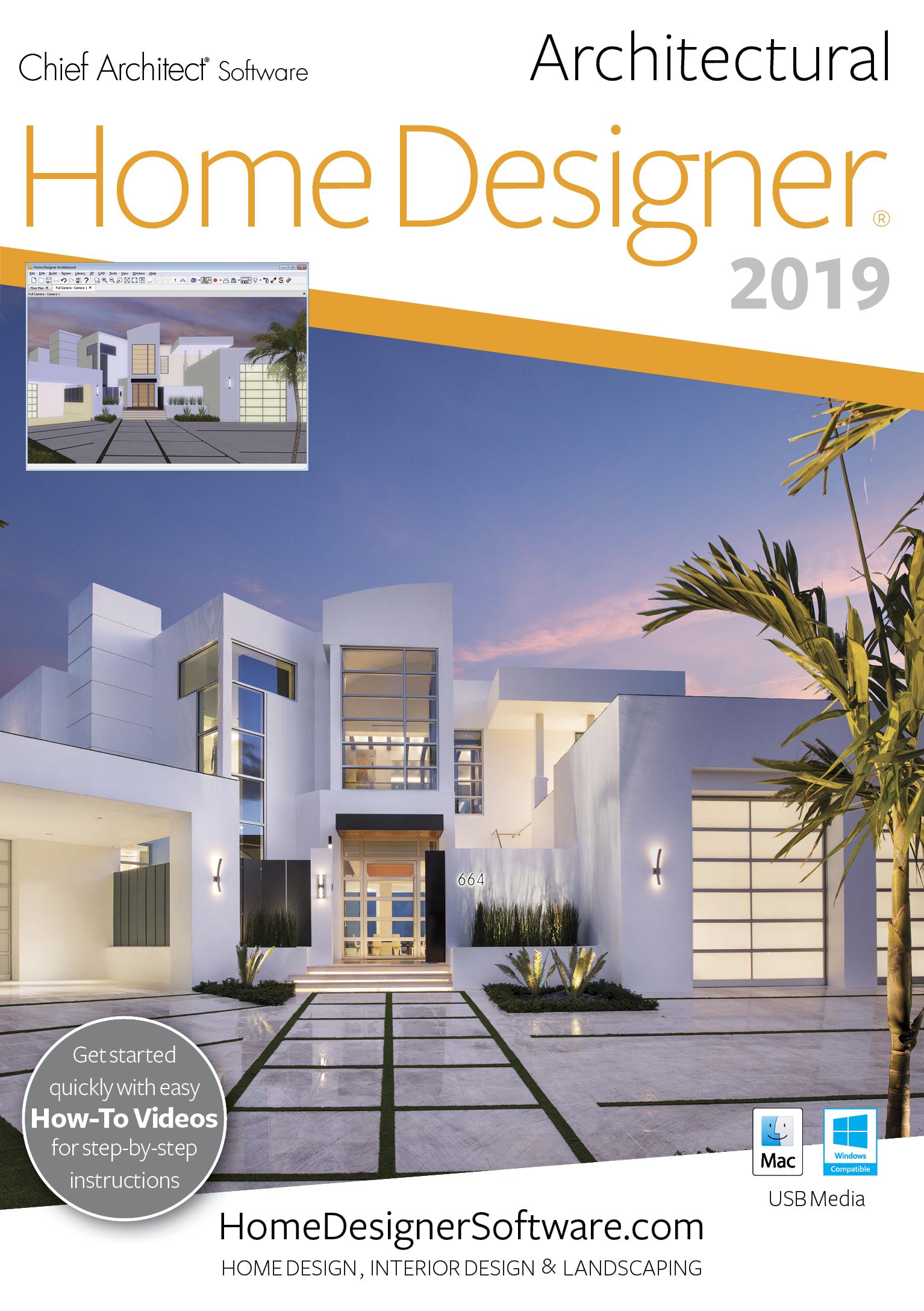 Home Designer Architectural 2019 - PC Download [Download]