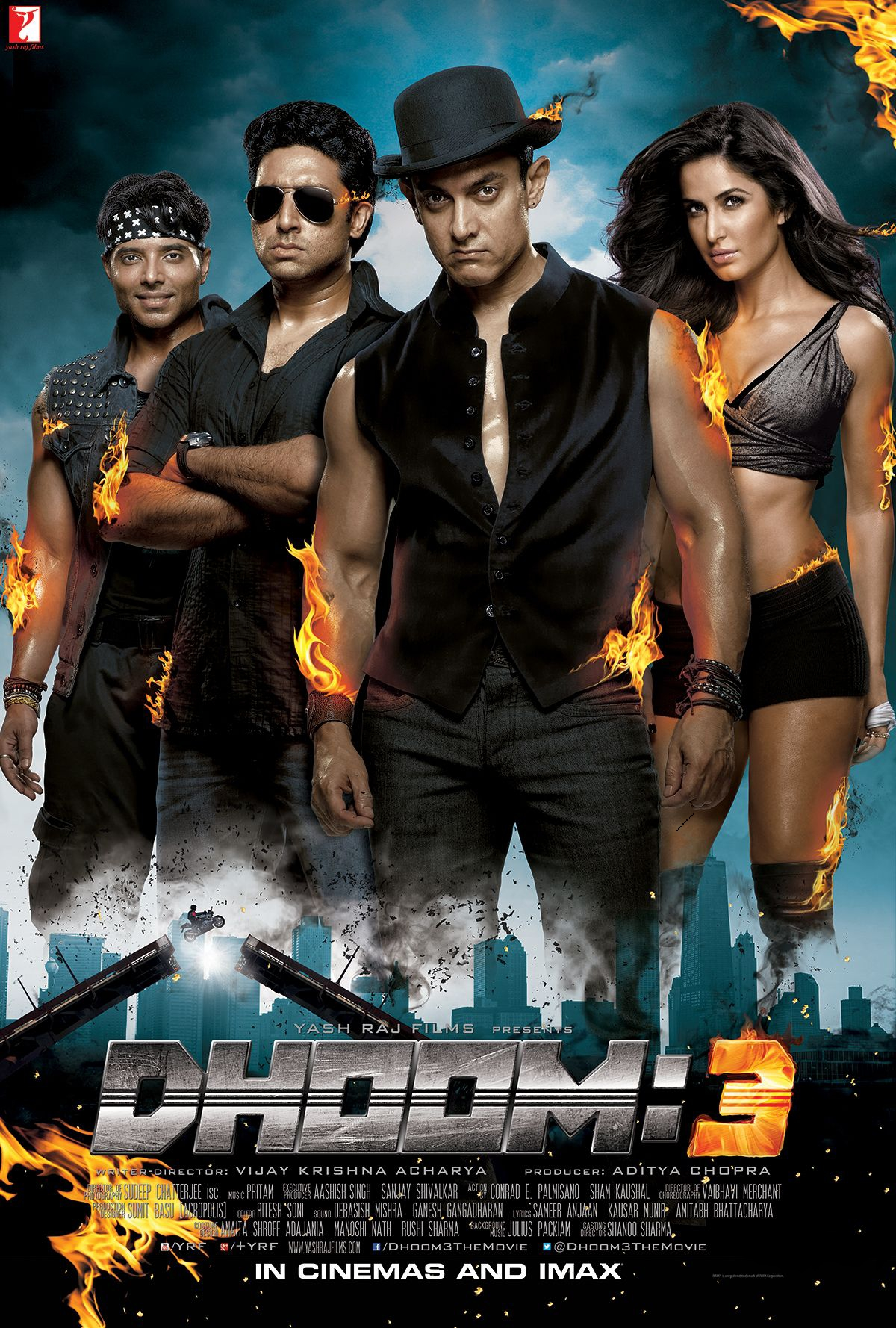 Dhoom 3 2013 1080p BluRay REMUX AVC DTS-HD MA 5.1-BdC | G- Drive | 28 GB | Parts |