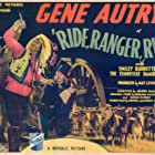 Gene Autry, Monte Blue, and George J. Lewis in Ride, Ranger, Ride (1936)