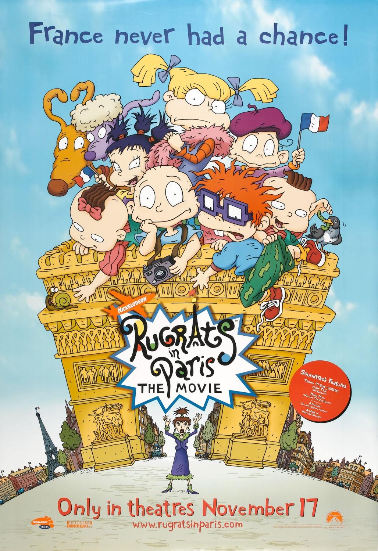 PRAMUŠTGALVIAI PARYŽIUJE (2000) / RUGRATS IN PARIS: THE MOVIE