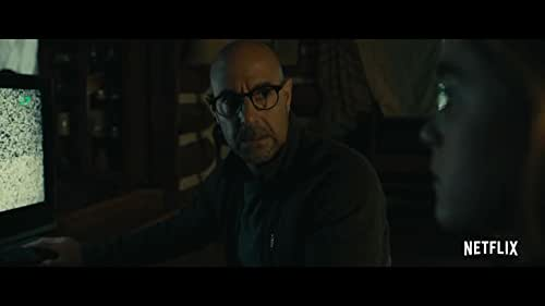 Kiernan Shipka and Stanley Tucci star in the horror film 'The Silence.'