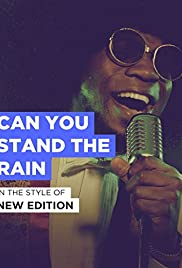 New Edition: Can You Stand the Rain Poster