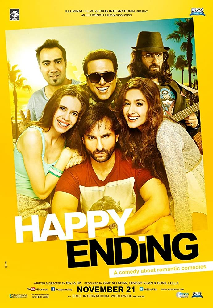 Happy Ending 2014 Hindi Movie 400MB HDRip Download
