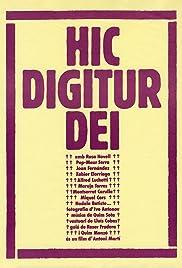Hic Digitur Dei Poster