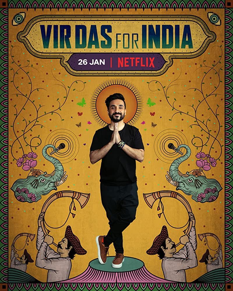 Vir Das For India (2020) Hindi 250MB NF HDRip Download