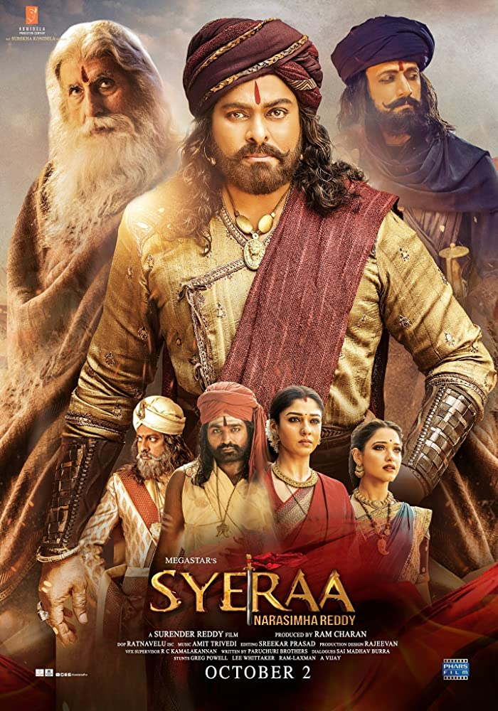 Sye Raa Narasimha Reddy 2019 Hindi Movie 720p Pre-DVDRip 1.4GB