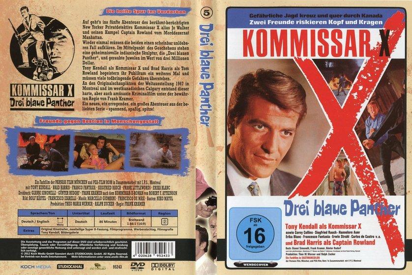 Kommissar X - Drei blaue Panther (1968)