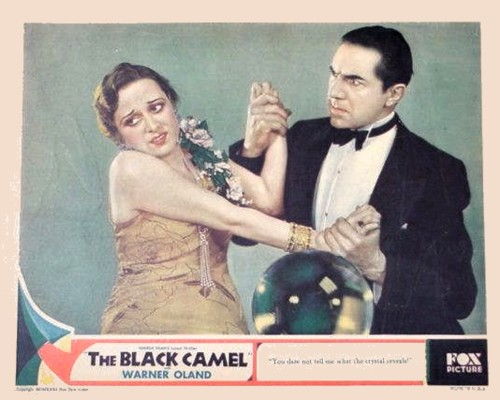 Bela Lugosi and Dorothy Revier in The Black Camel (1931)