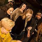 Jessica Danielle Batson, Agnes Hamerlik, Jenny Napier, O'Connor Hartnett, Logan Scofield, and Joe Martinez Jr. in Mellow Yellow (2019)
