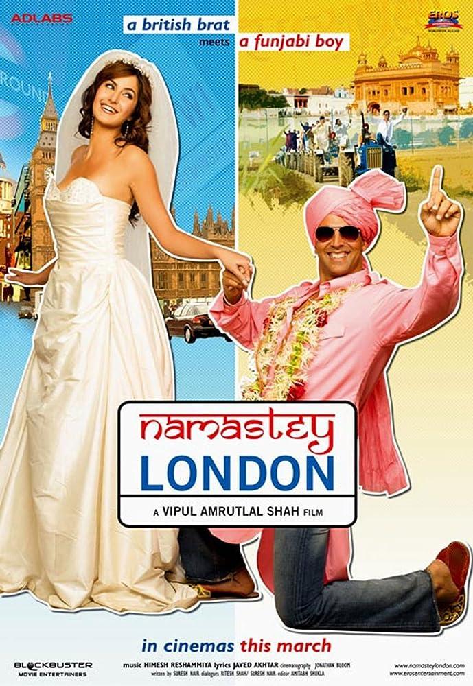Namaste London 2007 Hindi Movie 400MB BRRip Download