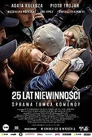 Agata Kulesza and Piotr Trojan in 25 lat niewinnosci. Sprawa Tomka Komendy (2020)