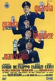 Guardia, guardia scelta, brigadiere e maresciallo Poster
