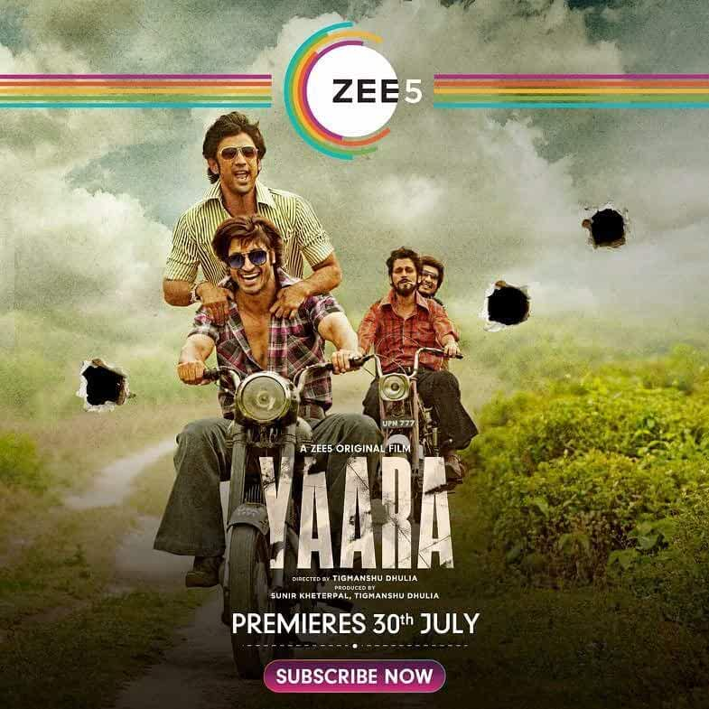 Yaara (2020) Hindi Zee5 Full Movie Watch Online Download