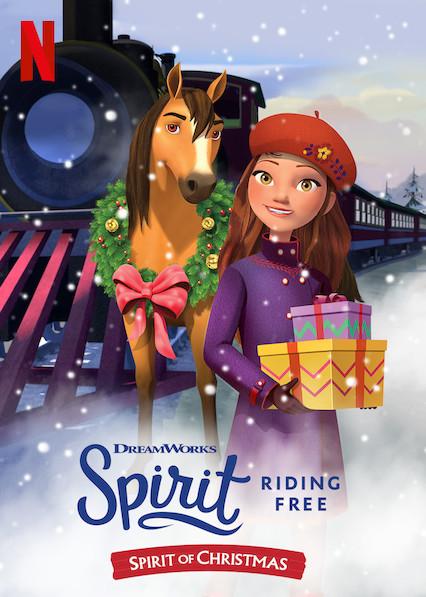 MUSTANGAS: KALĖDŲ DVASIA (2019) / Spirit Riding Free: Spirit of Christmas