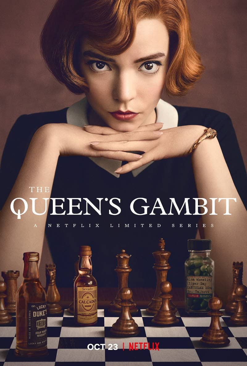 The Queen's Gambit (2020) Dual Audio [Hindi – English] NF WEB-DL x265 AAC ESUB