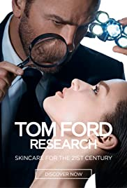 Tom Ford Research: Skincare for the 21st Century Poster