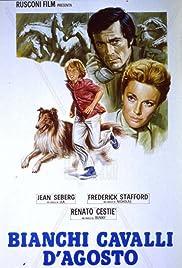 Bianchi cavalli d'Agosto Poster