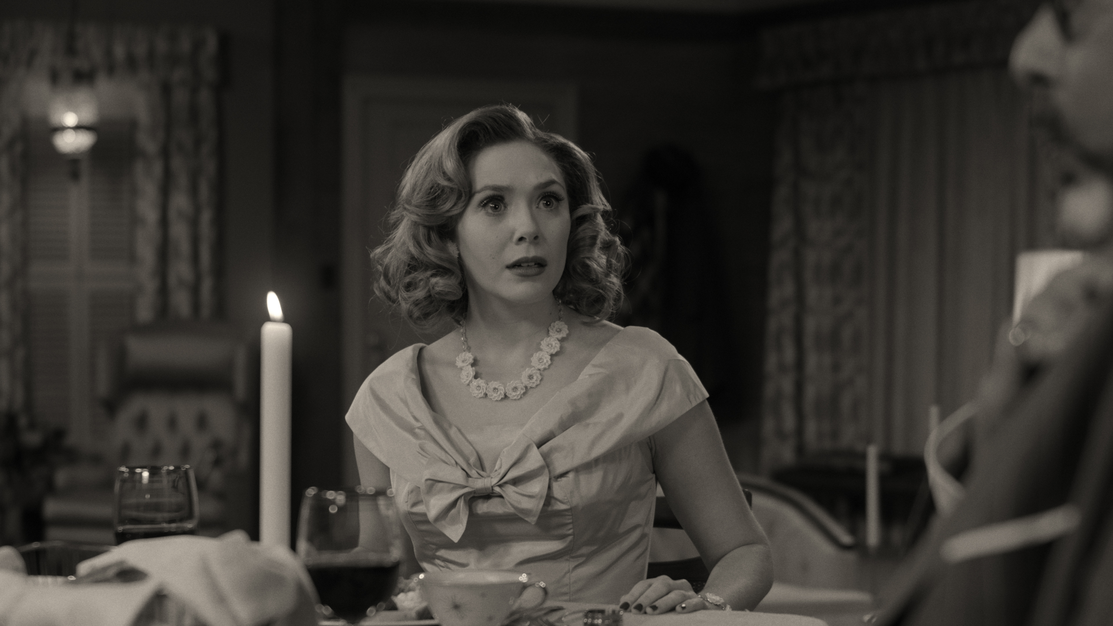 Elizabeth Olsen in WandaVision (2021)