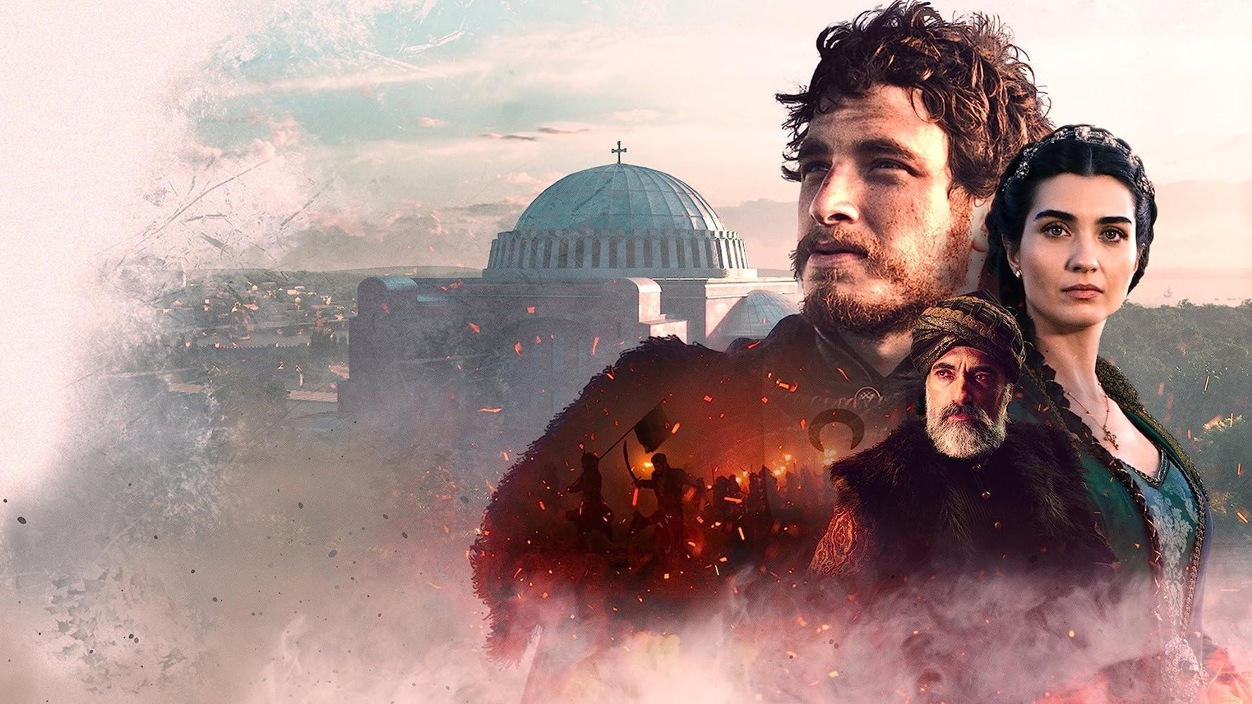 Tuba Büyüküstün, Selim Bayraktar, and Cem Yigit Uzümoglu in Rise of Empires: Ottoman (2020)
