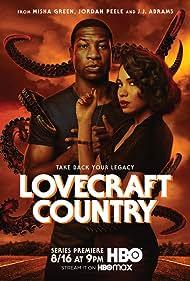 Jurnee Smollett and Jonathan Majors in Lovecraft Country (2020)