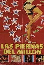 Las piernas del millón Poster