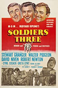 MP4 movies clips download Soldiers Three [Ultra]