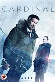 Billy Campbell and Karine Vanasse in Cardinal (2017)