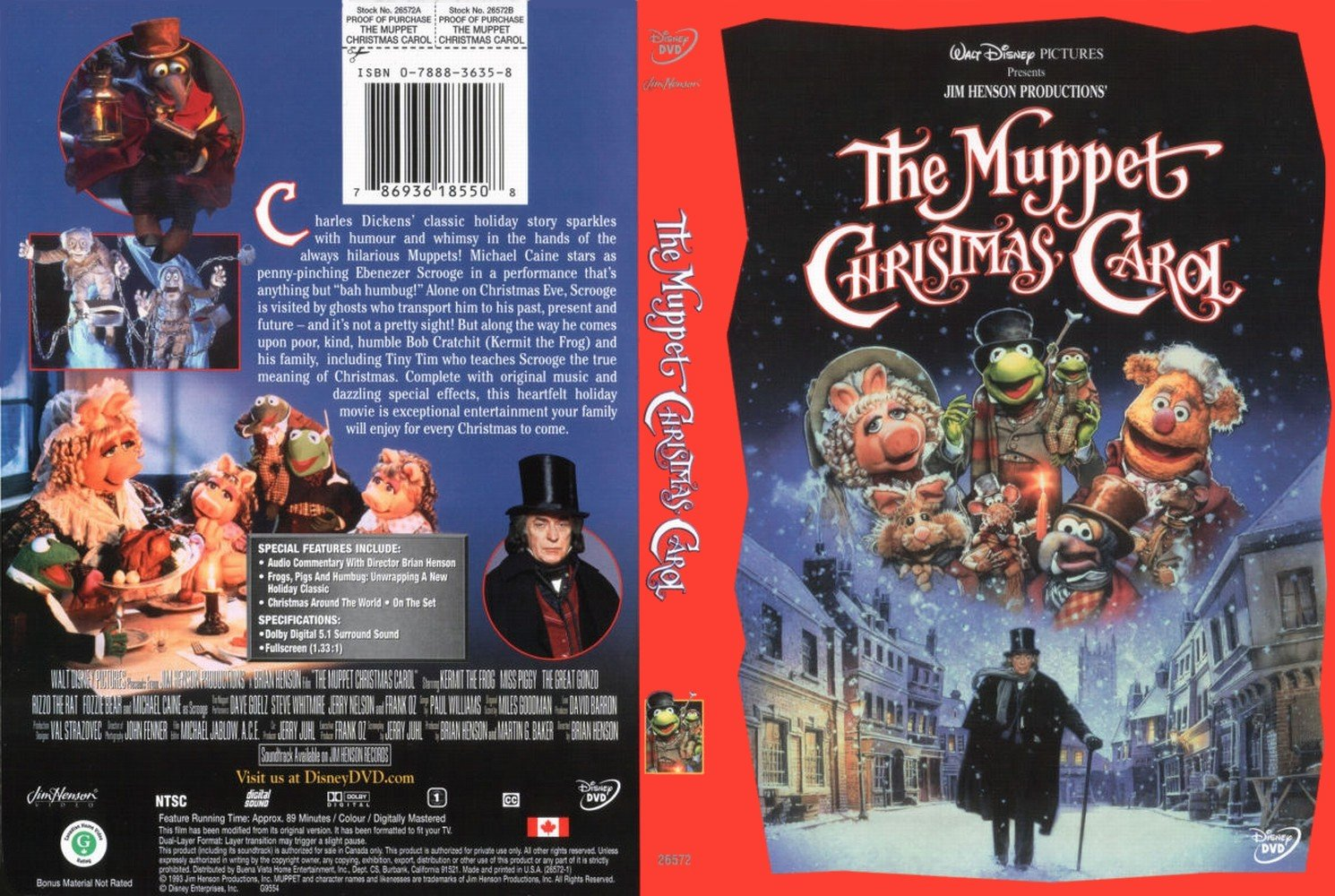 The Muppet Christmas Carol.The Muppet Christmas Carol 1992
