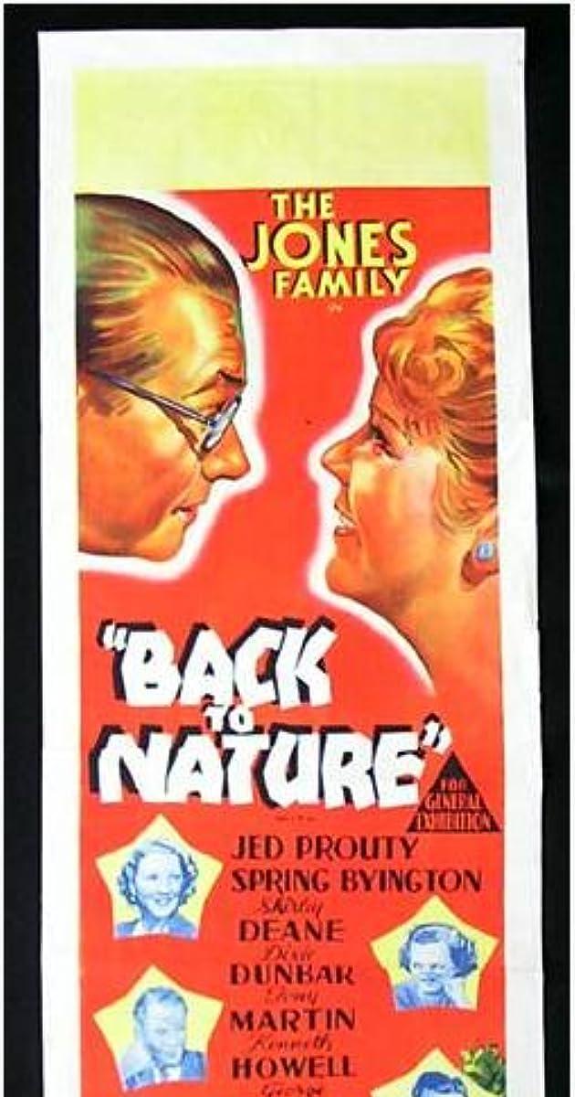 Back to Nature (1936) - IMDb