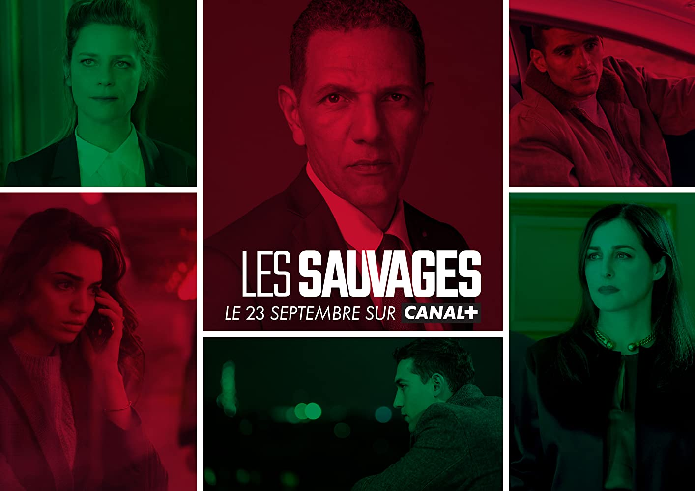 Amira Casar, Marina Foïs, Roschdy Zem, Sofiane Zermani, Dali Benssalah, and Souheila Yacoub in Les sauvages (2019)
